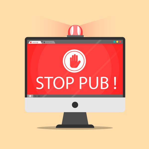 Comment bloquer la publicité indésirable sur internet